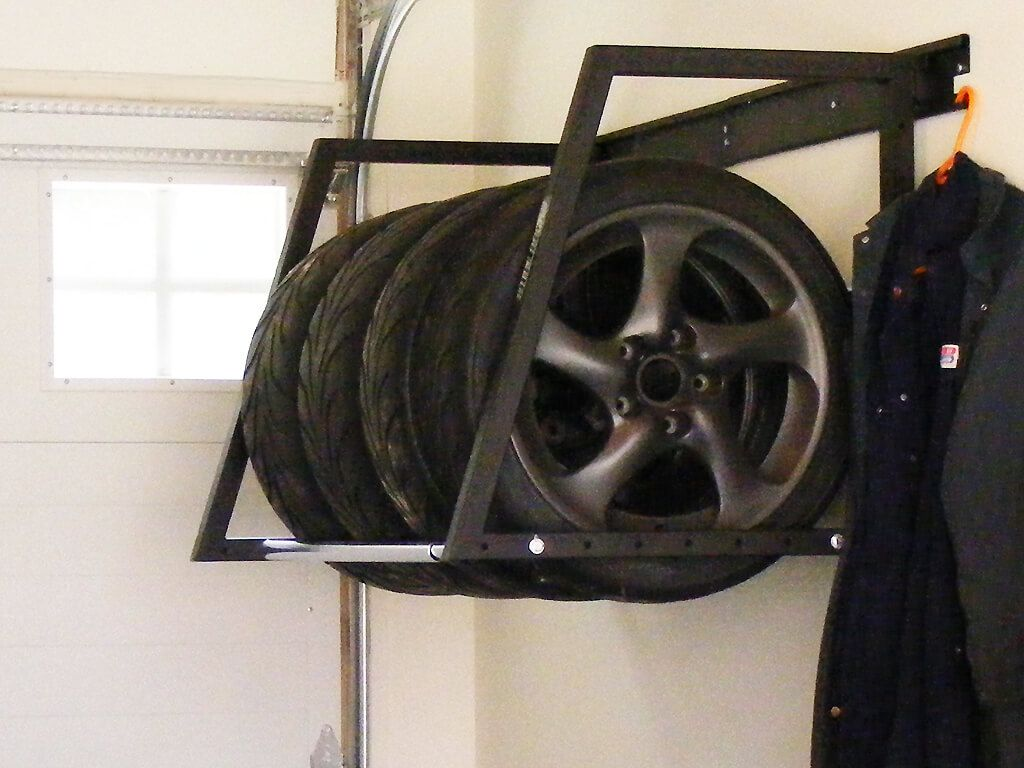 Image Result For Wall Mount Tire Rack Tire Rack Wall Mount Wall