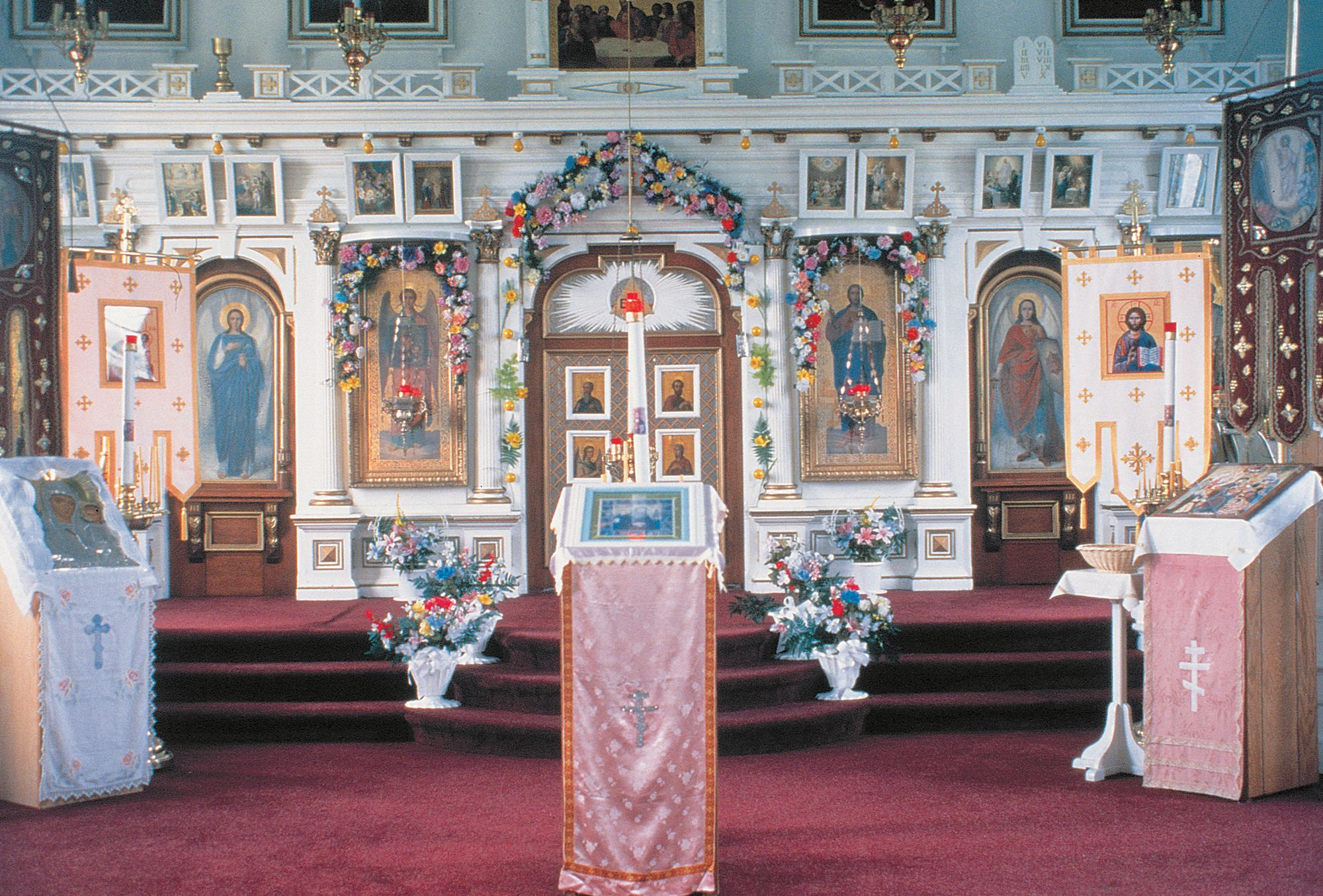 St Michael s Russian Orthodox Church Interior Sitka Alaska   Google     St Michael s Russian Orthodox Church Interior Sitka Alaska   Google Search