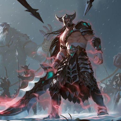Tryndamere, LoL, Legends Of Runeterra