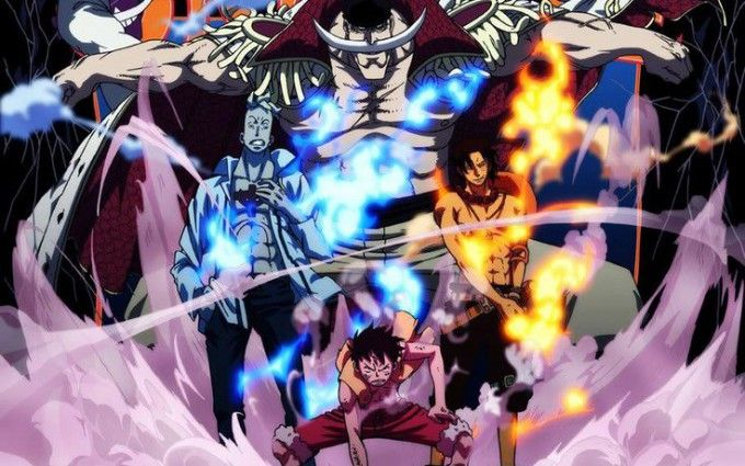 one piece wallpaper whitebeard one piece pinterest anime