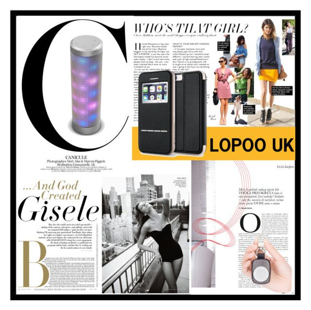 """LOPOO UK wireless bluetooth speakers portable"" by lopoouk ❤ liked on Polyvore featuring Folio"