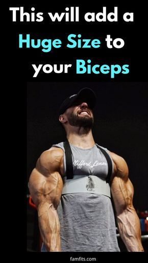 Exercise For Biceps This Will Add Huge Size To Your Bicep And Will Give A Defined Shape To Your Bice Best Bicep Workout Bicep And Tricep Workout Biceps Workout