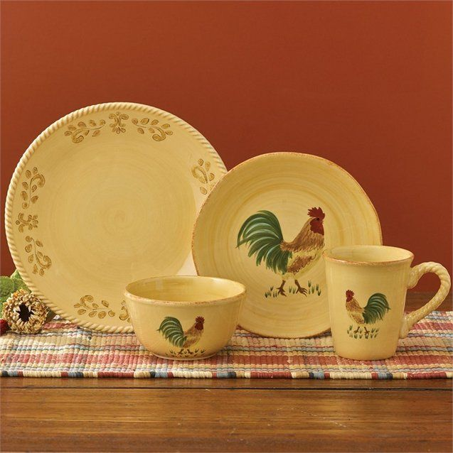 Country Primitive Dishes Free Range Dinnerware By Park Designs