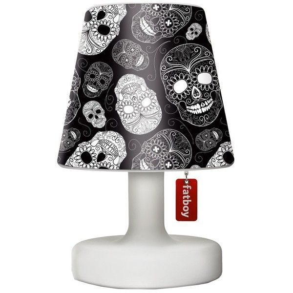 Urban Lighting Fatboy Cooper Cappie Lampshade Skull Black Lamp Urban Lighting Skull Light
