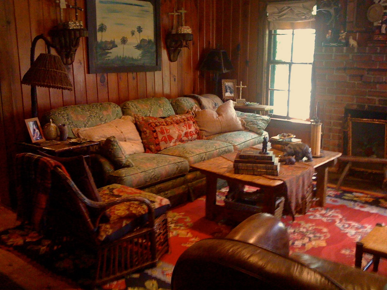 Farmhouse Living Room Decorating ideas Pinterest