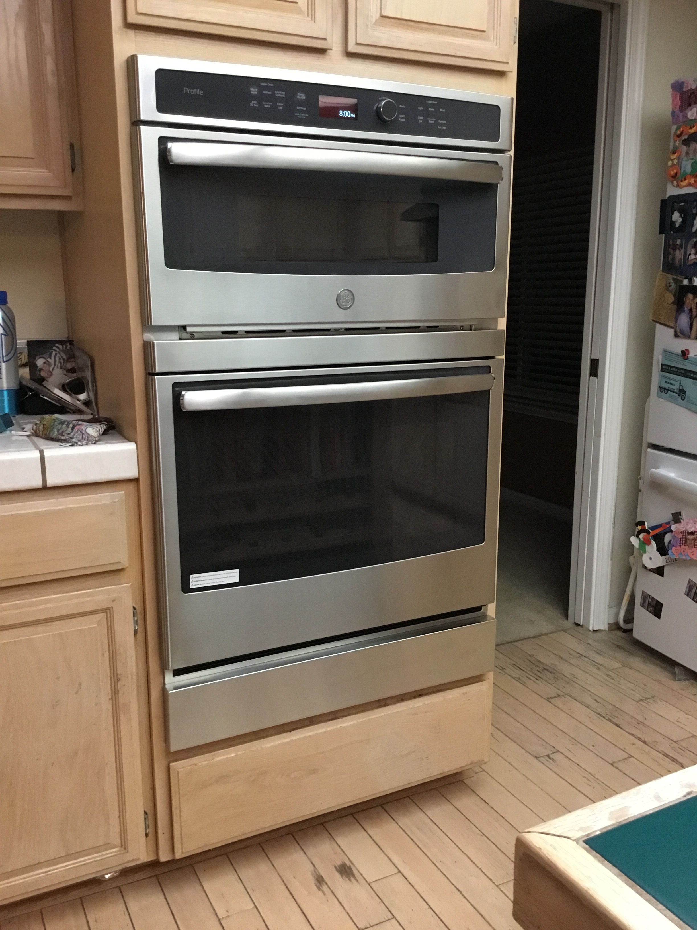 Wall Oven Filler Strip For A Ge Profile Model Pt7800sh8ss In 2020 Wall Oven Design Your Kitchen Microwave Drawer