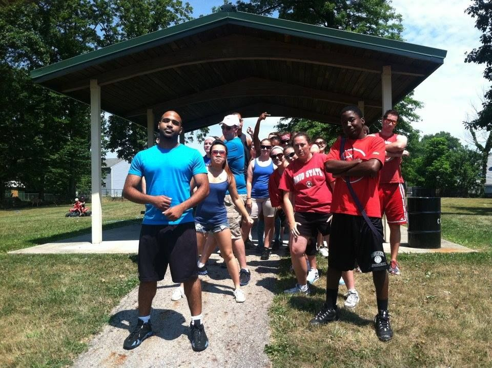 Old-school Field Day with the entire Worldwide Marketing, Inc. team!