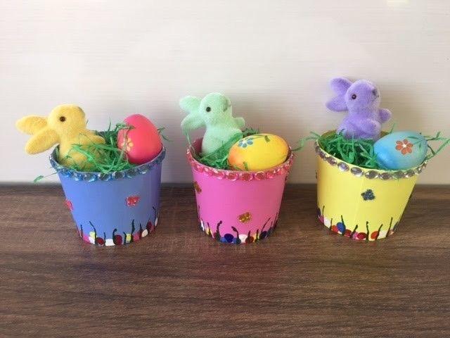 Diy Mini Osternester Basteln Mit Und Für Kinder Schnell