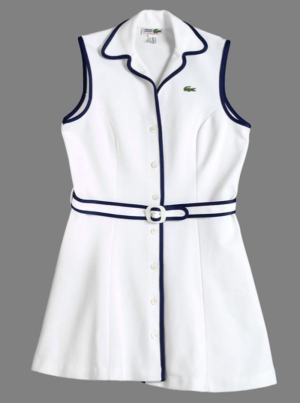 Tennis Dress Lacoste 1970s Museum No T 586 1995