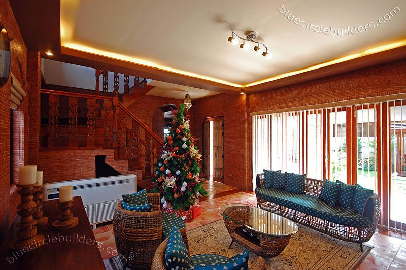 Living Room Interior Design House Architecture Styles Batangas Quezon  Bataan Philippines