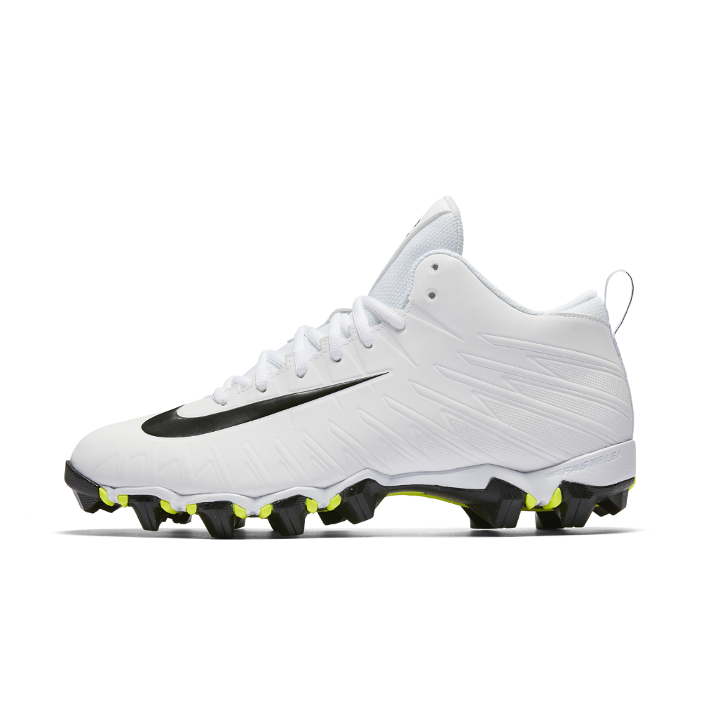 ae5674a3d Nike Alpha Menace Shark Men s Football Cleat Size 11.5 (White)