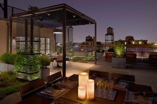 berdachte terrasse 50 top ideen f r terrassen berdachung pool garten. Black Bedroom Furniture Sets. Home Design Ideas