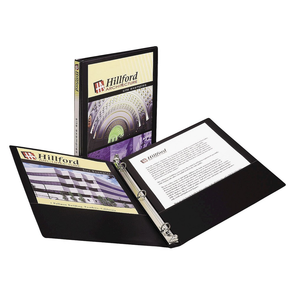 """Avery .5 Economy View Binder With Round Rings-8.5"""" X 11"""