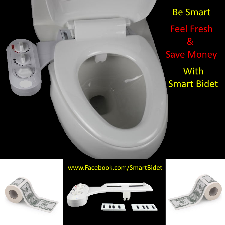 The Smart Bidet Attachment Is A Simple And Inexpensive Way To Retrofit Your Existing Toilet Into A Bidet That Offers Warm And Coo With Images Bidet Bidet Attachment Toilet