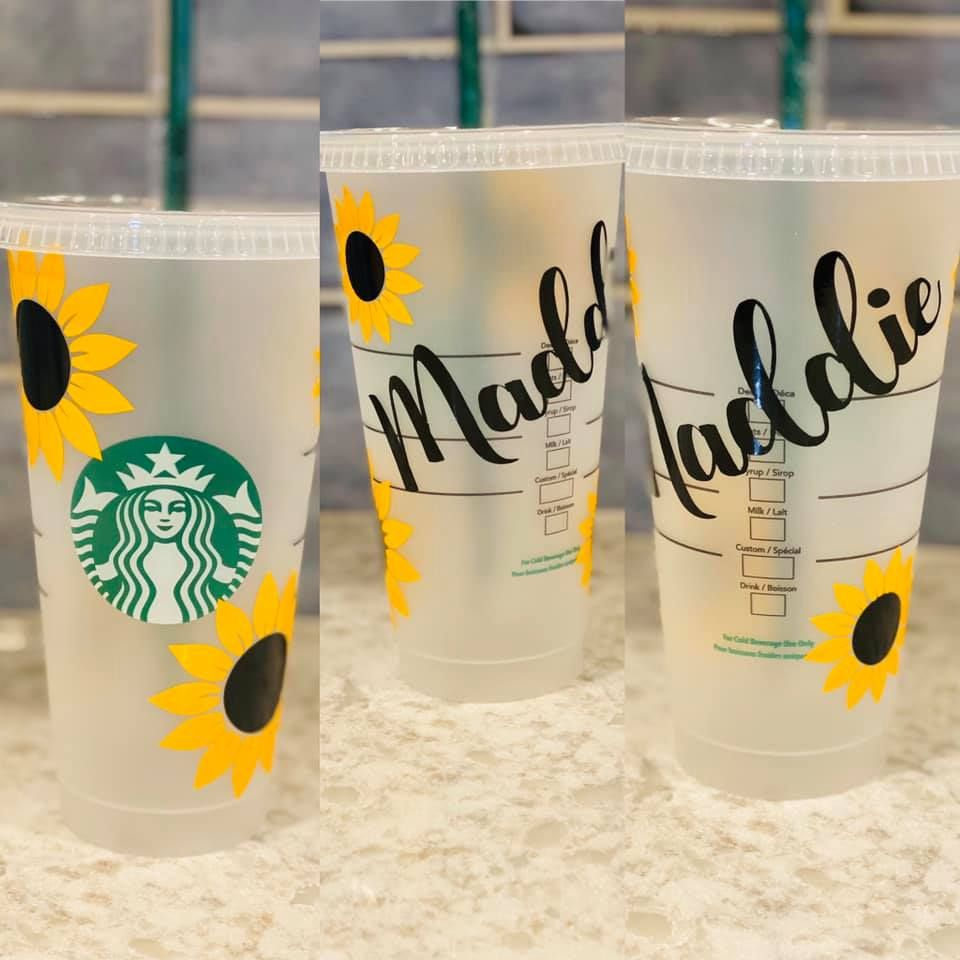 Personalized Starbucks Cup | Iced Coffee | Venti ...