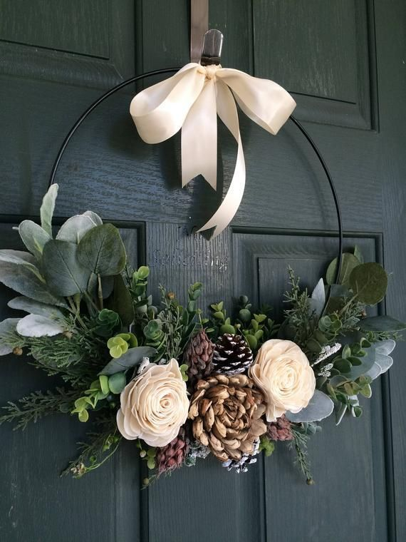 54 DIY Christmas Wreath Ideas to Decorate your Holiday Season #decodenoelfaitmaison