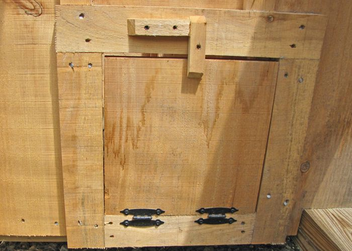 In Need Of A Small Wooden Door For Your Chicken Coop Check Out These Pine