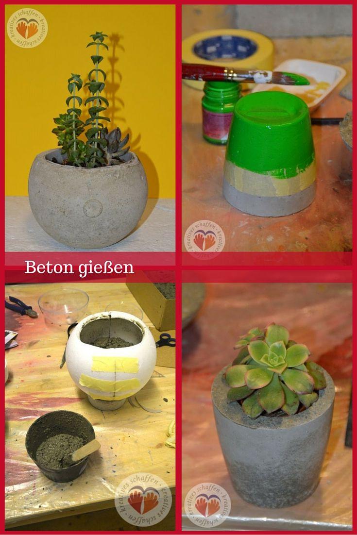 Betonschale Diy beton schale schüssel betonschale diy pflanze selbstgemacht