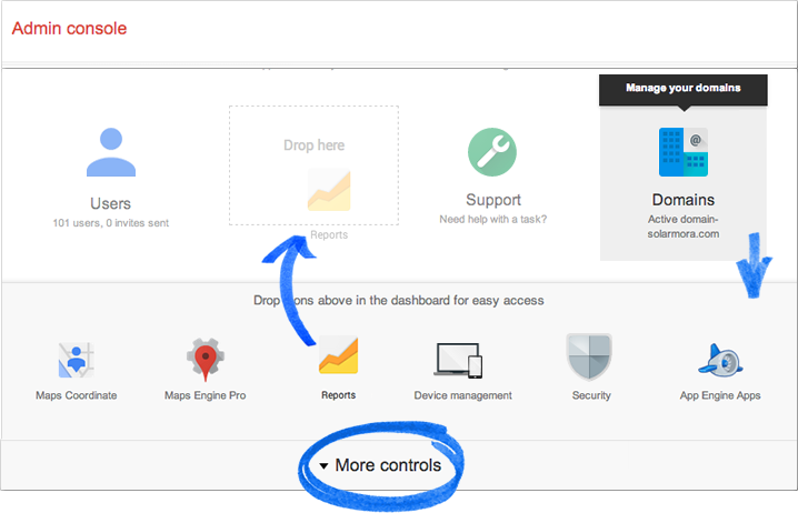Add / remove dashboard controls Google Apps Help (With