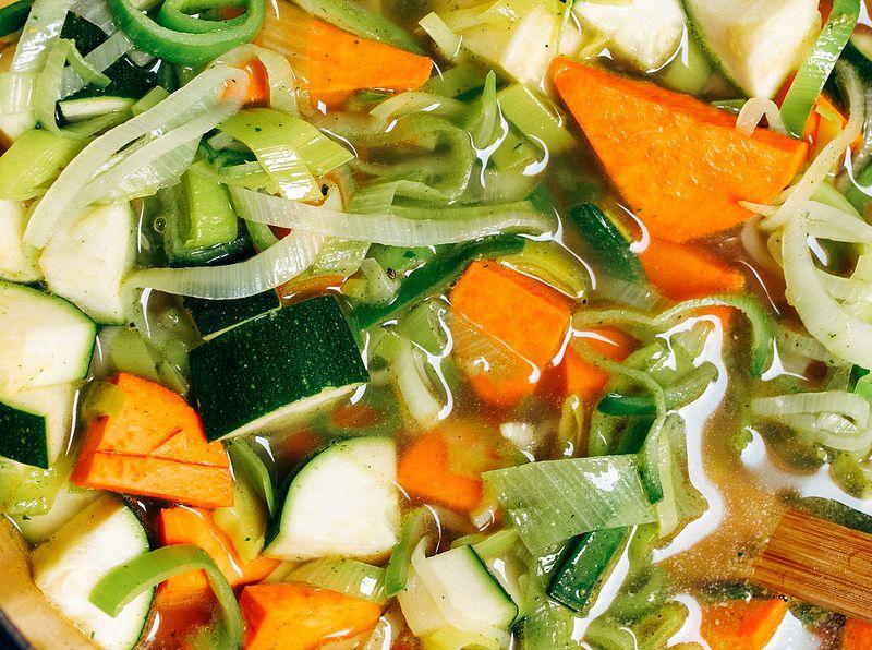 Zucchini & Sweet Potato Vichyssoise