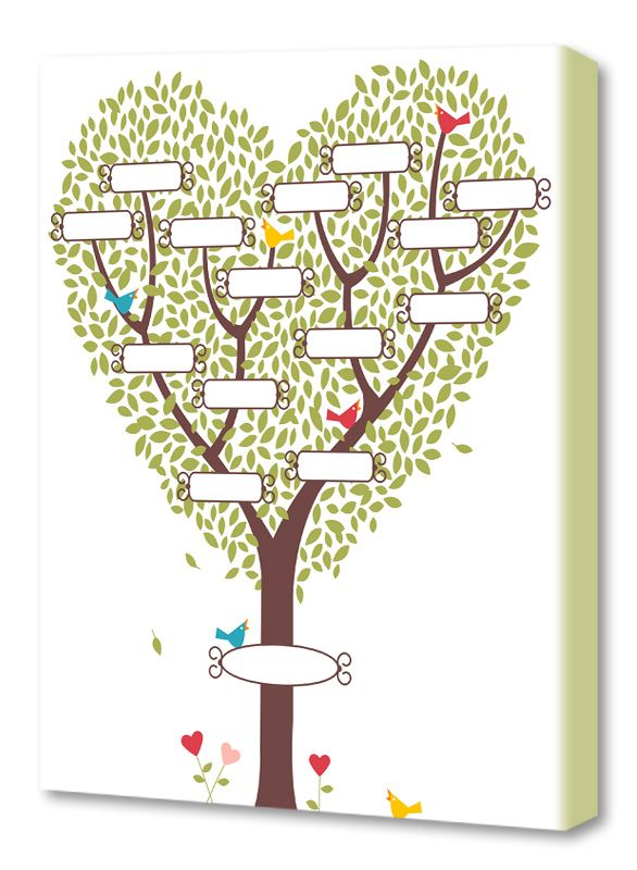 family tree example 1 family tree Pinterest Family trees - family tree example