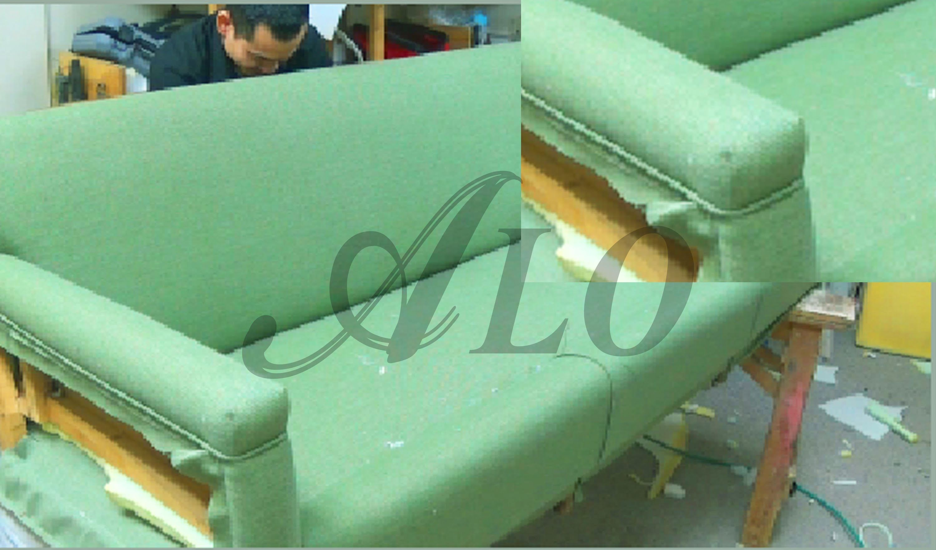 Upholstery Couch Diy Diy How To Upholster A Sofa Aloworld Haym Sofá