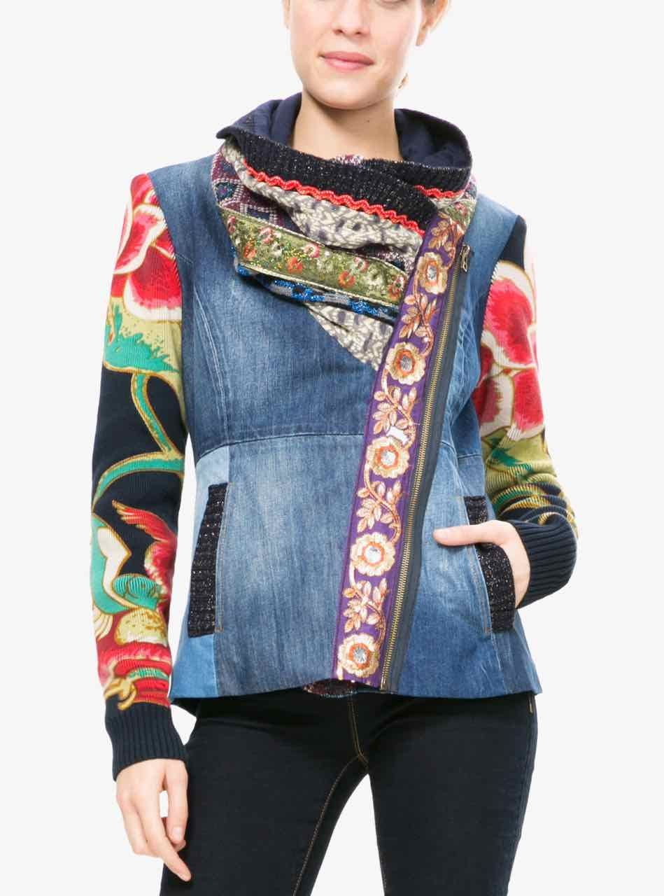 c3c8436211d DESIGUAL Denim Jacket MARSELLA 67E29T5