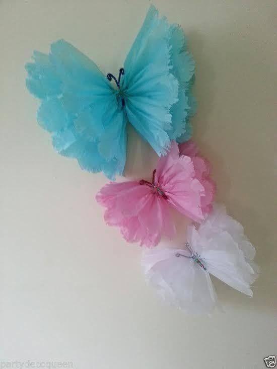 mariposas accesorios pinterest fleur papier fleurs en papier et bricolage. Black Bedroom Furniture Sets. Home Design Ideas