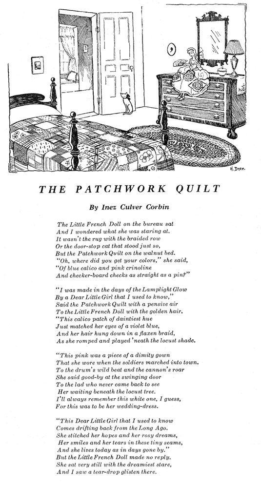 The Patchwork Quilt from Home Arts Needlecraft Magazine