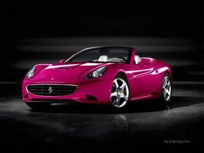 Nothing says First Gay Diamond more than a Pink Ferrari #FerrariPink #pinkferrari Nothing says First Gay Diamond more than a Pink Ferrari #FerrariPink #pinkferrari