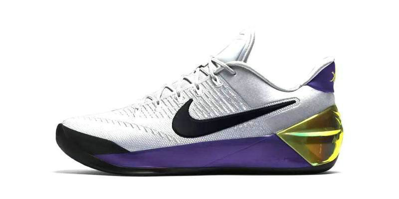 buy online 713f7 b399e Size 9.5 Newest Kobe AD Home White Gold Purple | Newest ...