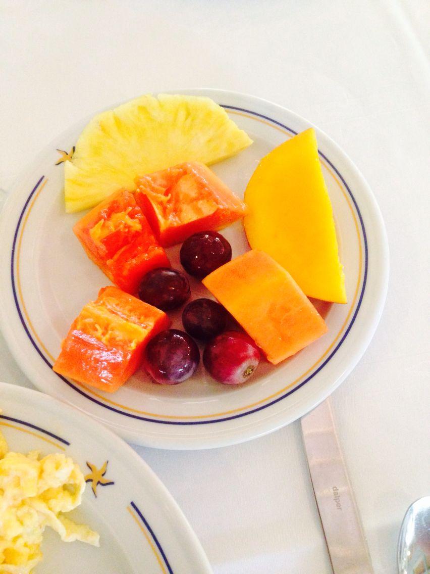 Postre de frutas