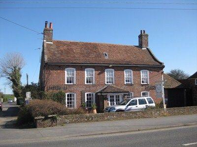 Edith Nesbit's former home  - Sycamore House, High Street, Dymchurch, Kent, England. Author of The Railway Children