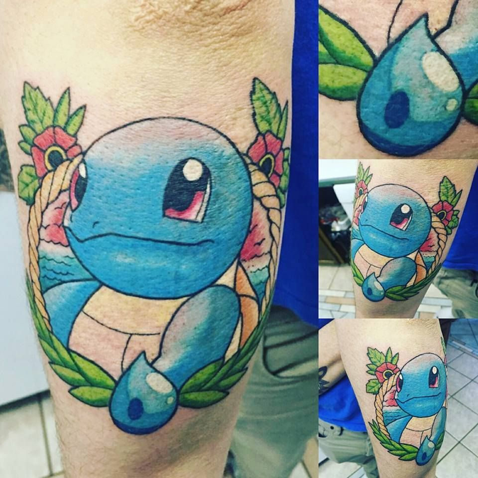 Thought you guys/gals may enjoy my new pokemon tattoo.