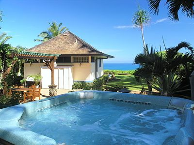 Two Tropical Kauai Vacation Cottages In A Garden Setting With Easy Beach Access Plan Your Next Kaua Beach Cottage Decor Beach Cottage Rentals Vacation Cottage