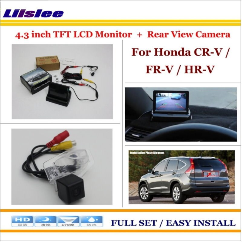 Honda Cr V Fr V Hr V Auto Rear View Camera Back Up 4 3 Lcd