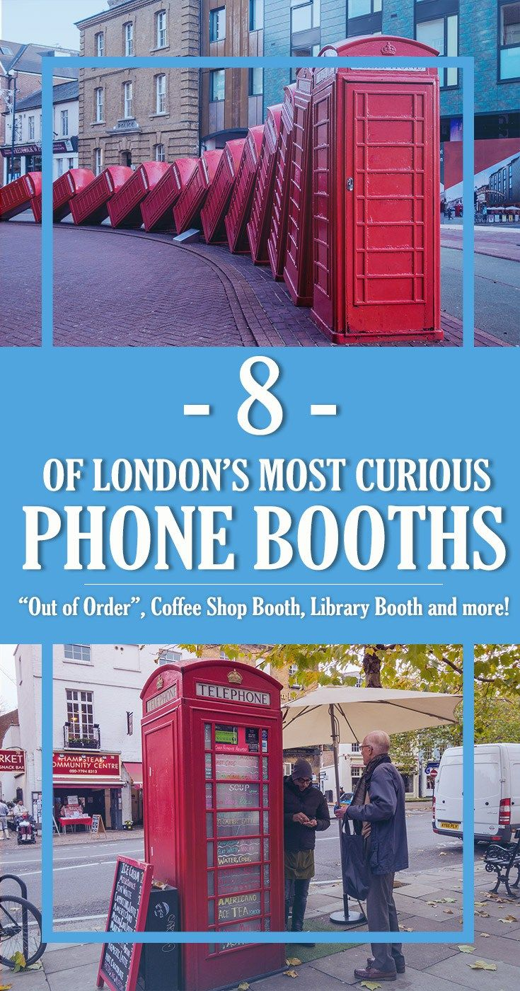 8 of London's Most Curious Phone Booths | Out of Order, Kape Barako, Micro-Library | Ever thought you could get a coffee, salad or even a book to read out of a phone booth? Here's where to find London's most amazing phone booths!