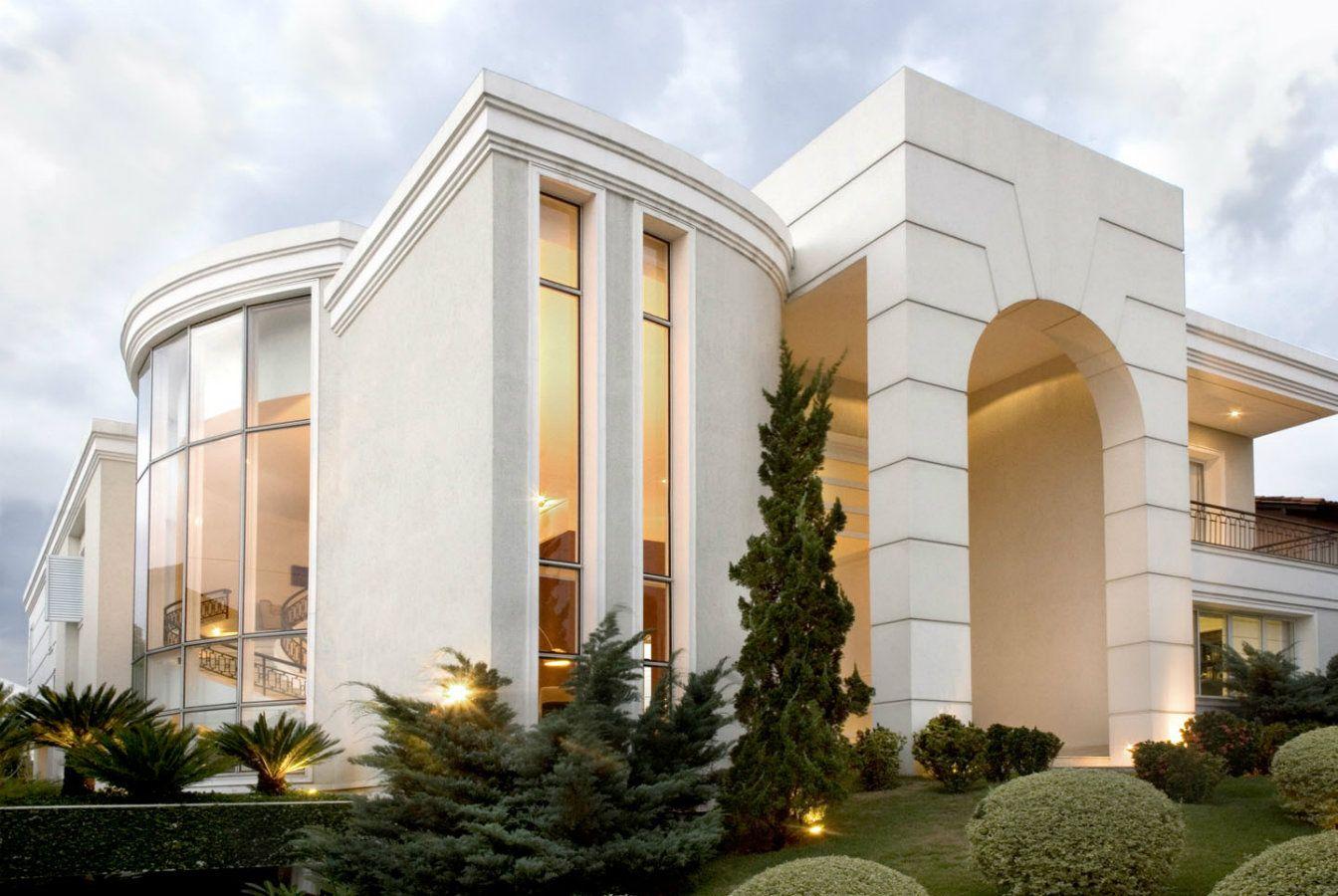 Fachadas de casas lindas e de diferentes estilos veja for Villas pequenas