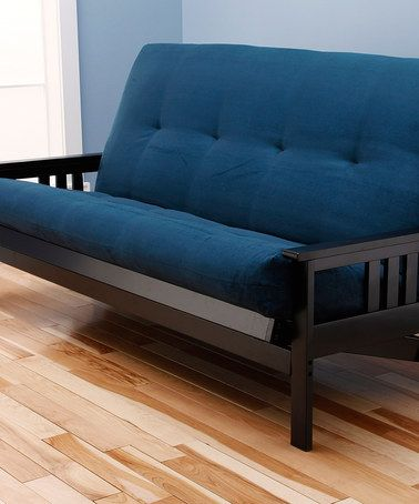 Another great find on #zulily! Blue Monterey Frame Futon ...