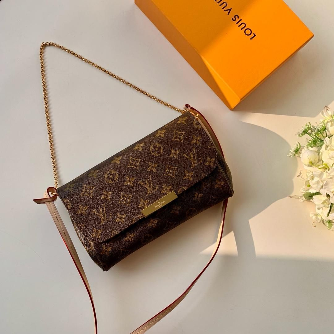 bff37bc0803 루이비통 페이보릿 모노그램-레플리카 갈색 여성 신상 인기 백 신형 페이 보릿 숄더백 파우치