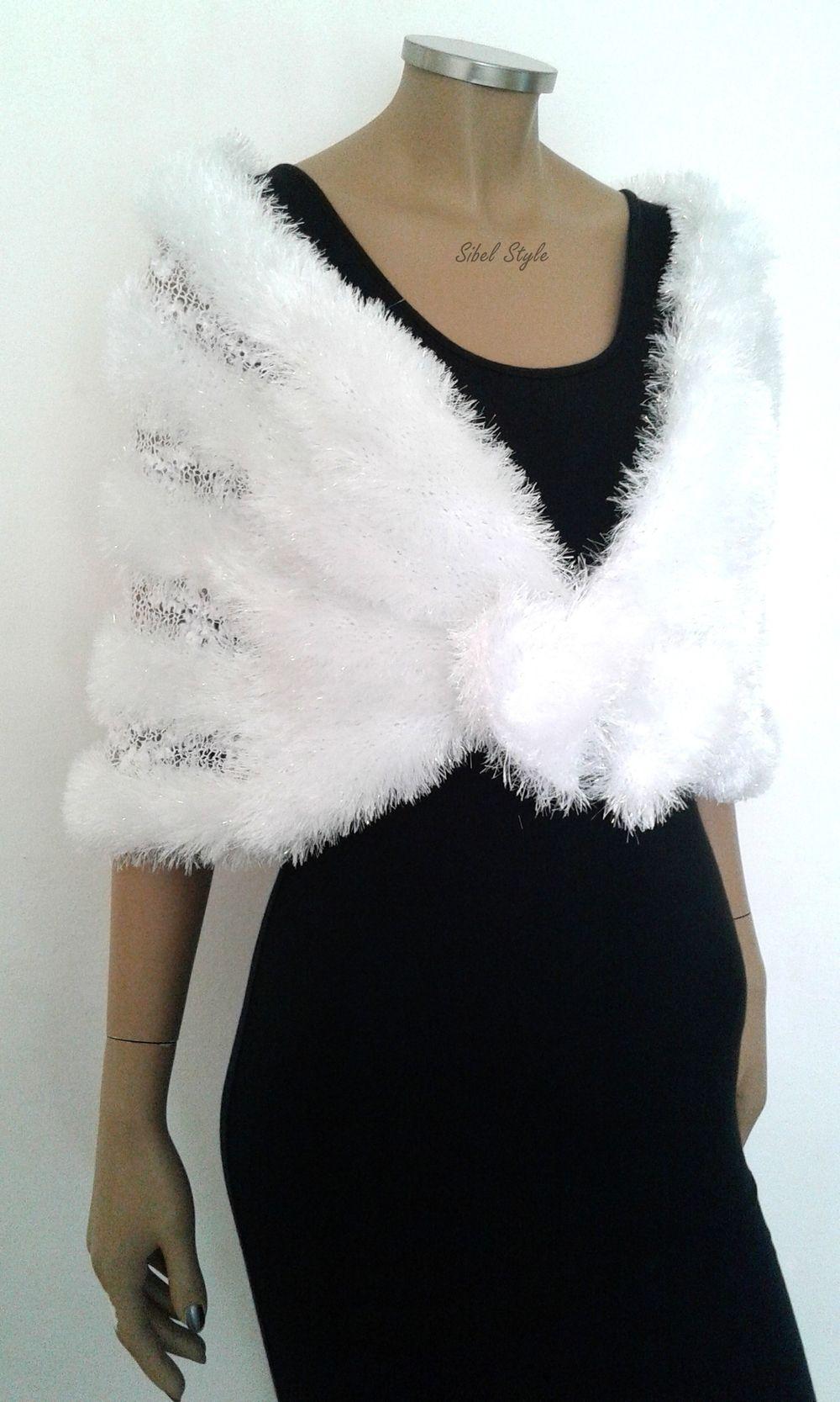 b27e2be12fa Cache-épaules couvre-épaules châle étole pour robe de mariée mariage  cérémonie soirée cocktail