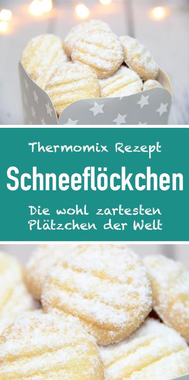 Schneeflöckchen - die wohl zartesten Plätzchen der Welt. - My Blog #cheesecakerecipes