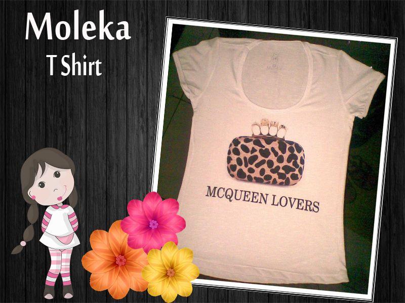 T shirt MCQUEEN LOVERS