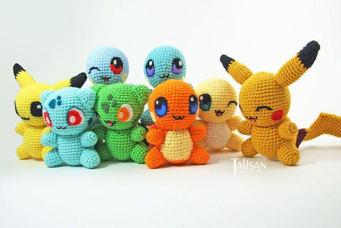 Crochet Pokemon Pattern Book Httpgeekxgirlsarticlepid