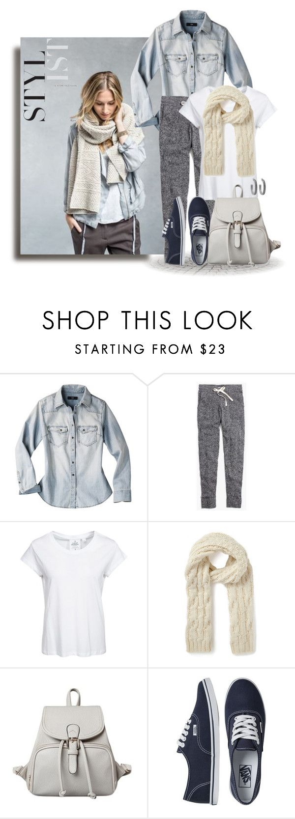 """""""Monday Casual"""" by leegal57 ❤ liked on Polyvore featuring mode, Mossimo, Madewell, Cheap Monday, Warehouse, Vans et House of Harlow 1960"""
