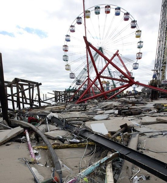 Fun Town Pier, Seaside Heights, New Jersey, After