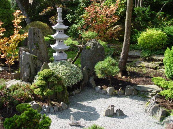 jardines japoneses Jardineria Pinterest