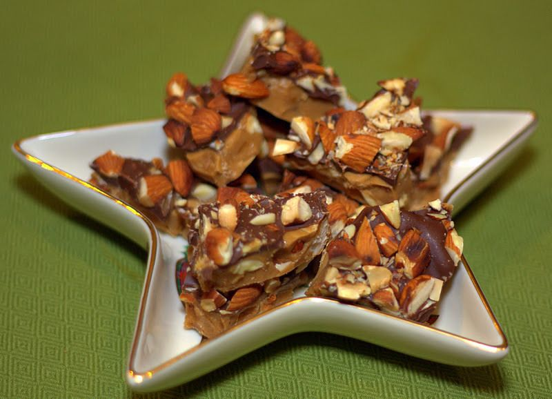 Day 8 of 12 Days of Christmas Fun: Almond Roca Brittle | Food, Folks, and Fun
