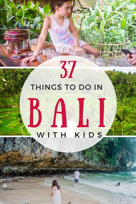 37 of the best things to do in Bali with kids - including how to get to the attractions and the cheapest way to get tickets.