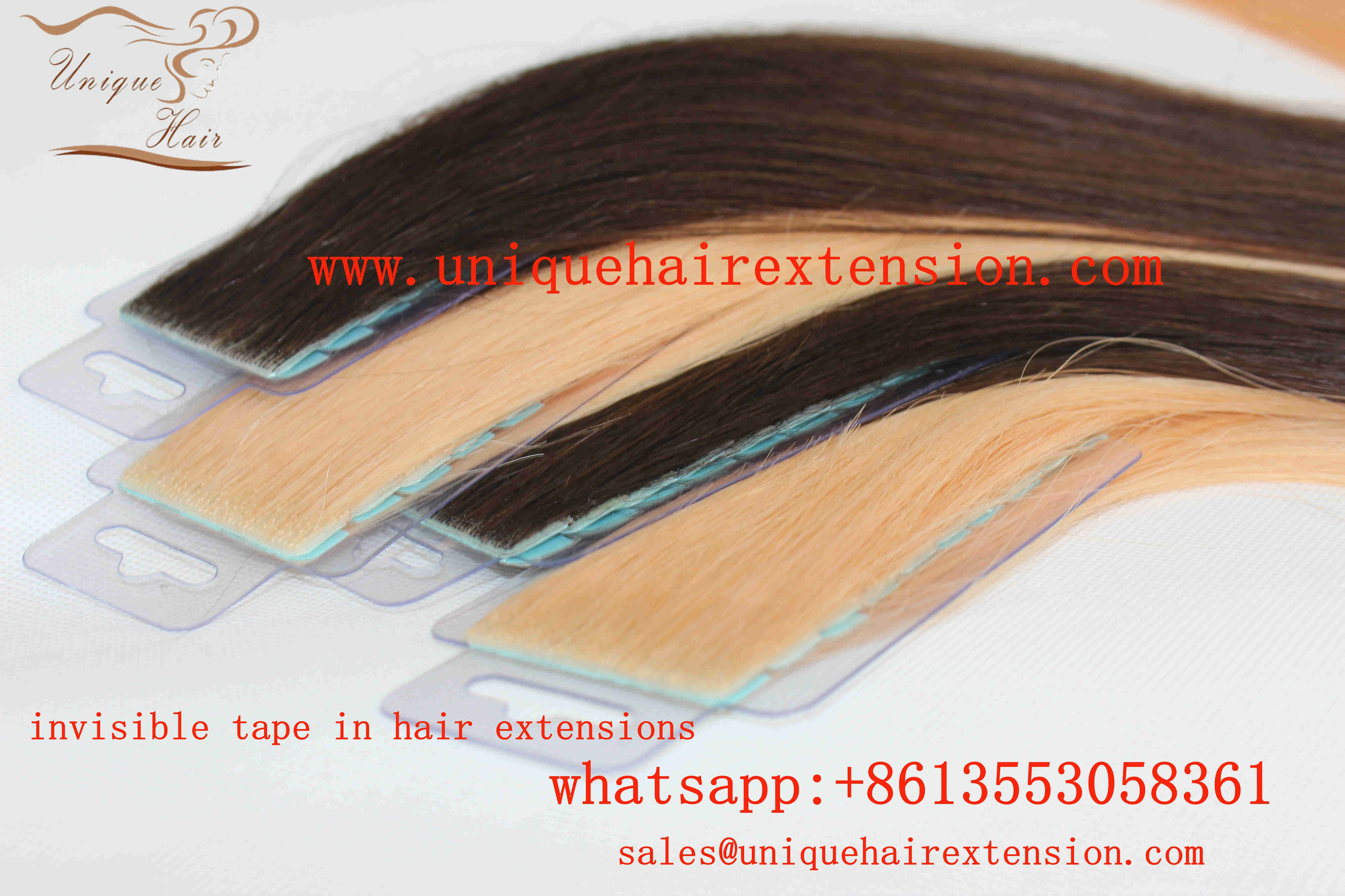 Invisible Tape In Extensions Factory Manufacturer By Qingdao Unique